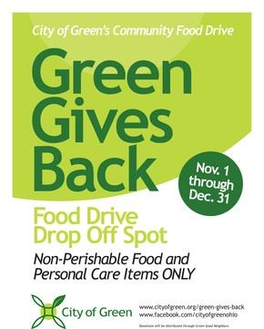 Green Gives Back Flyer