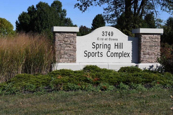 Spring Hill Sports Complex Entrance Sign