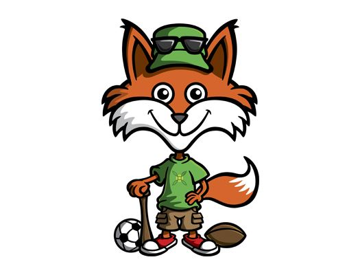 City of Green fox mascot newsflash
